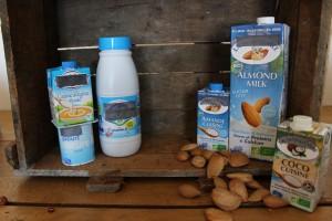 épicerie produits laitiers vs lait végétaux
