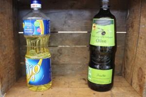 épicerie huile friture vs huile 1ère pression à froid