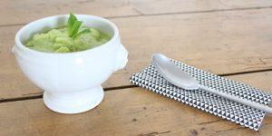 Recette facile : gaspacho vert concombre & avocat