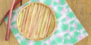 Recette facile : déclinaison de rhubarbe