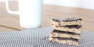 Recette facile : barres de céréales chocolat noir