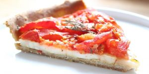 Recette facile : tarte à la tomate et au céleri rave