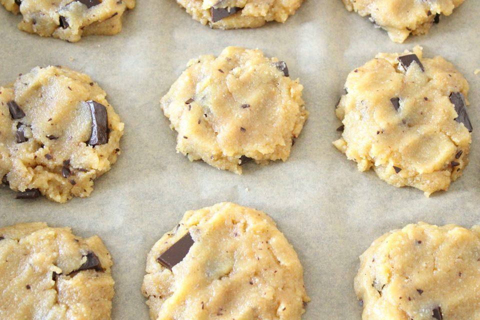 cookies aux pépites de chocolat géantes