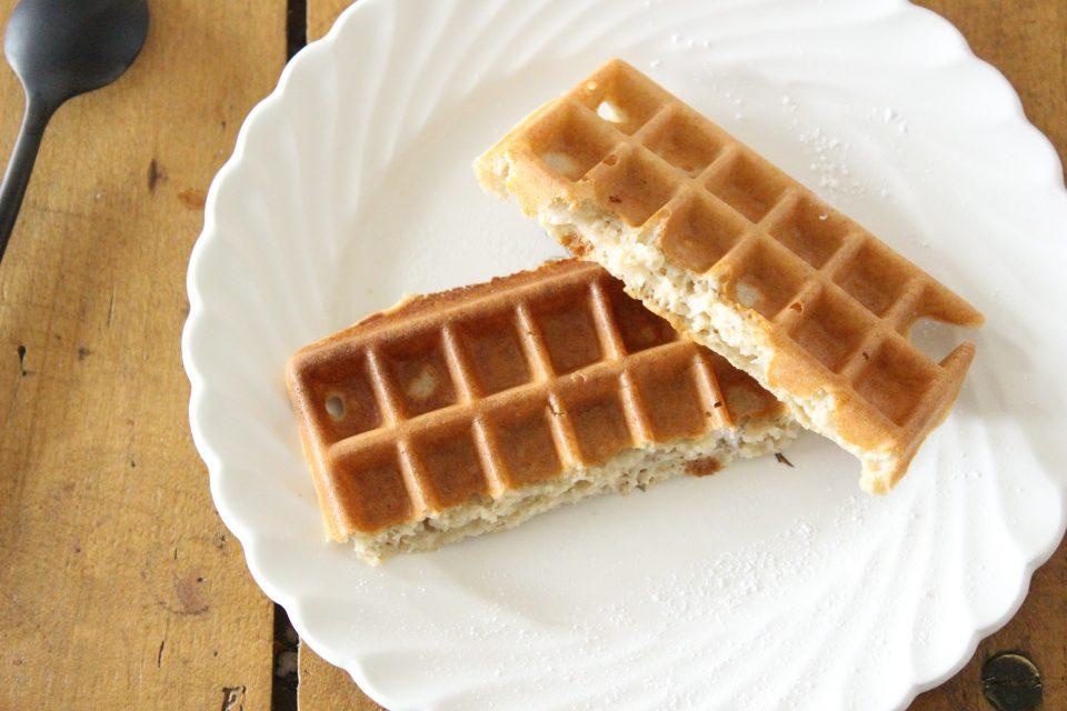 gaufres sans gluten sans beurre sans lait