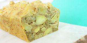 Gâteau aux pommes à la vapeur douce